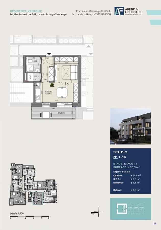 Studio En Vente Luxembourg Cessange 355 M² 483 161