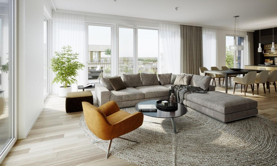 acheter appartement 1 chambre 49.81 m² luxembourg photo 2