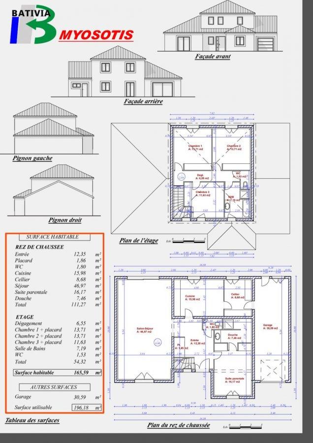 acheter maison individuelle 6 pièces 165 m² terville photo 3