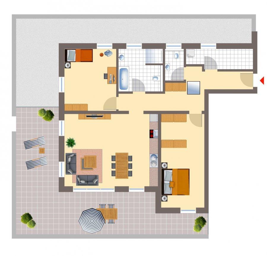 penthouse-wohnung kaufen 3 zimmer 126.57 m² echternacherbrück foto 2