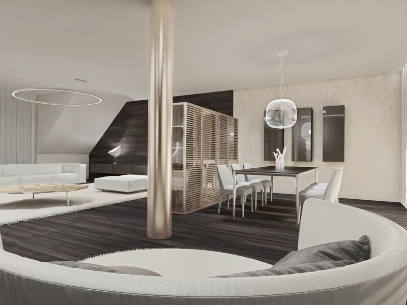 penthouse-wohnung kaufen 3 schlafzimmer 245.49 m² alzingen foto 7