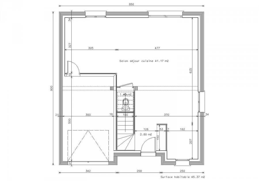 acheter maison 5 pièces 105 m² vernéville photo 2