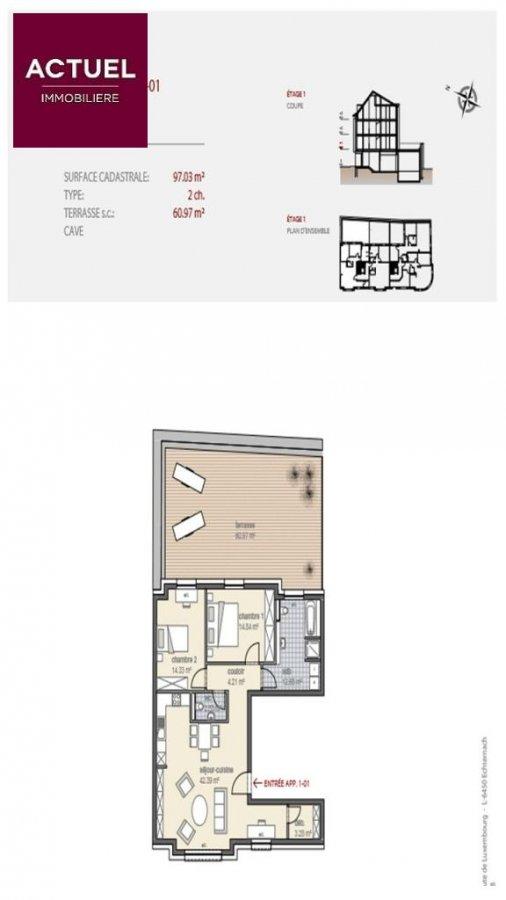 acheter appartement 2 chambres 127.51 m² echternach photo 2