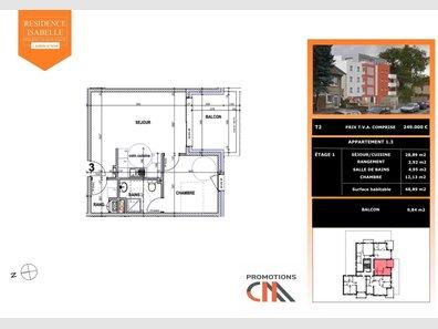 Appartement à vendre 1 Chambre à Audun-le-Tiche - Réf. 7097991