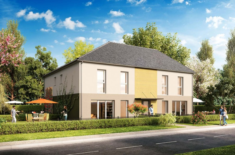 acheter appartement 3 pièces 66 m² talange photo 1