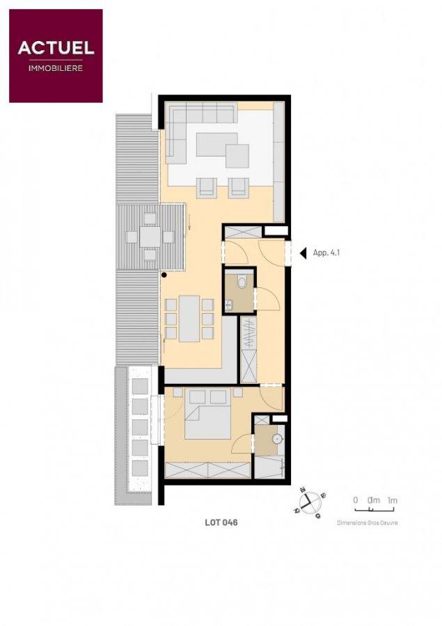 acheter penthouse 1 chambre 90.04 m² luxembourg photo 2