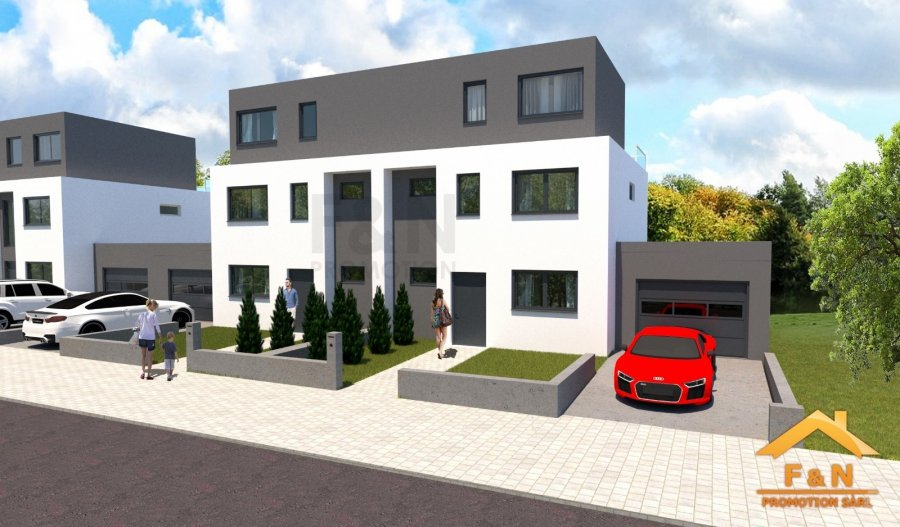 Maison jumelée à vendre 4 chambres à Wolwelange