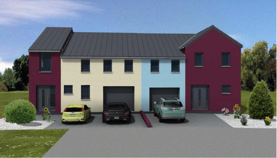 doppelhaushälfte kaufen 4 schlafzimmer 138 m² hostert (rambrouch) foto 1