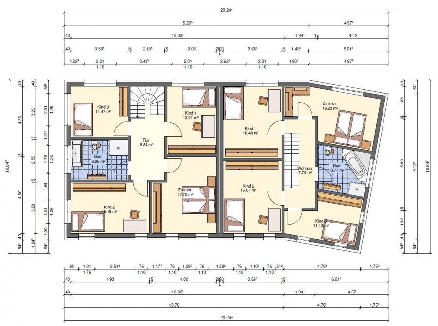 doppelhaushälfte kaufen 4 schlafzimmer 138 m² hostert (rambrouch) foto 4