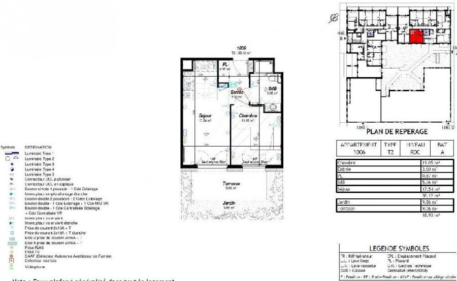 louer appartement 2 pièces 37.65 m² nancy photo 2