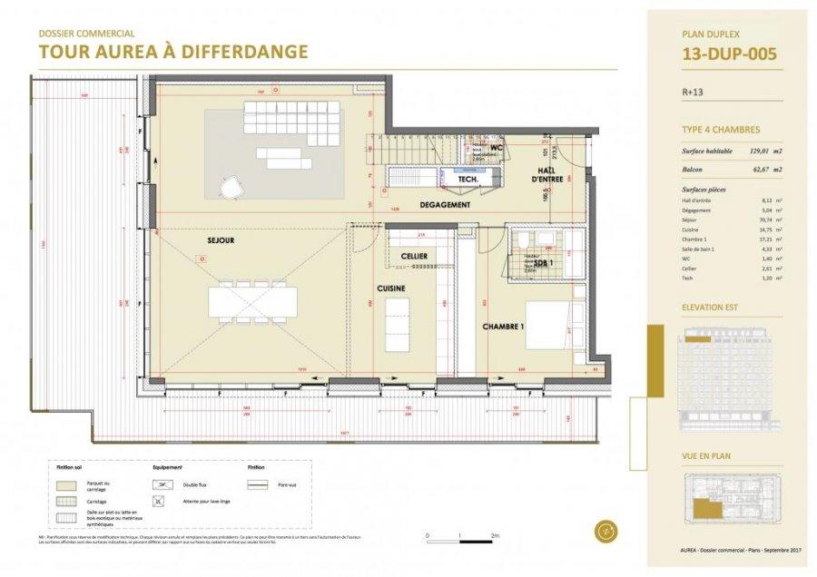 acheter duplex 4 chambres 229.6 m² differdange photo 4