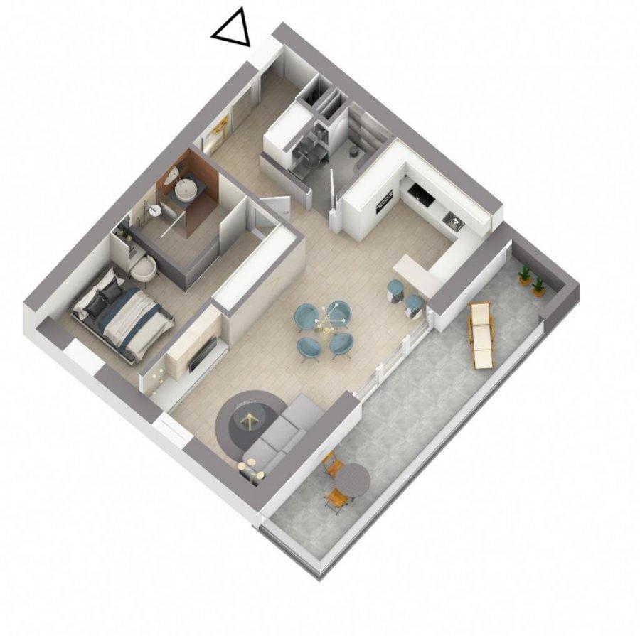 acheter appartement 1 chambre 61.28 m² eselborn photo 4