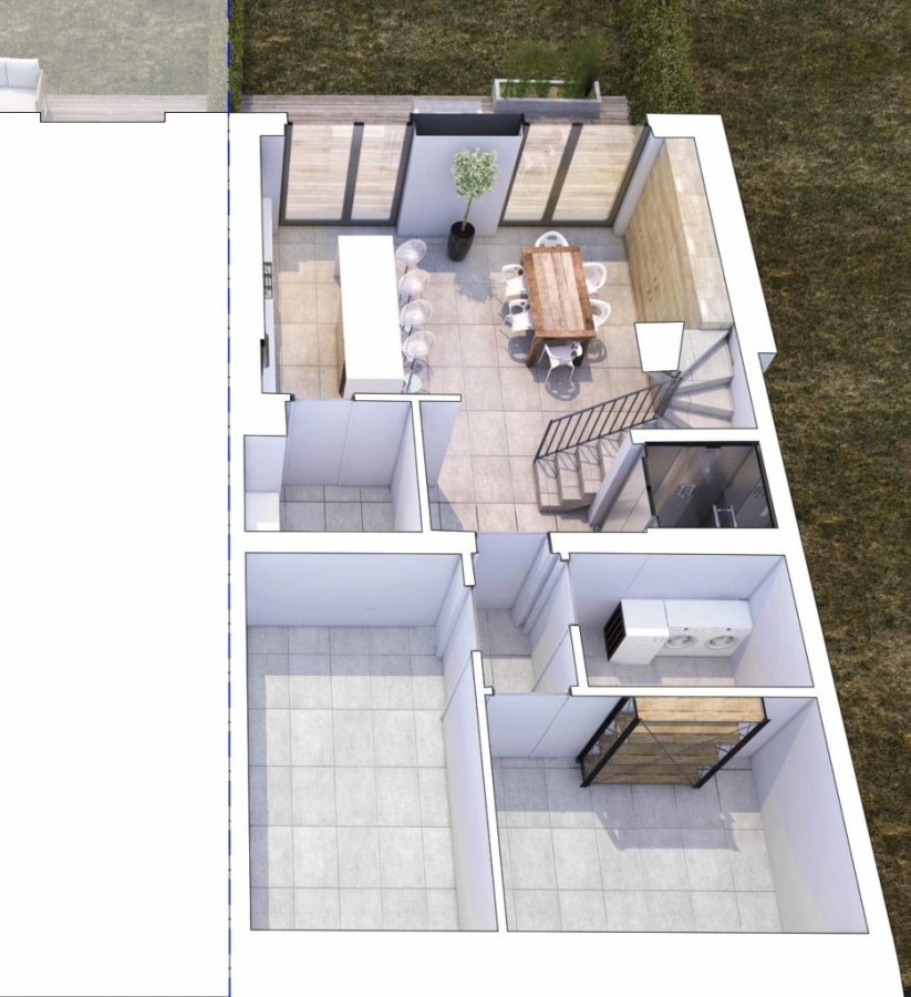 doppelhaushälfte kaufen 5 schlafzimmer 264 m² itzig foto 7