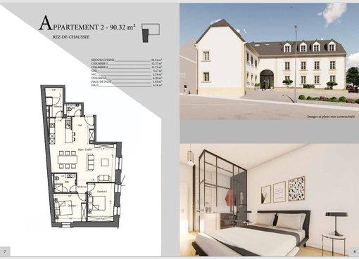 Apartment for sale 3 bedrooms in Mondercange (LU) - Ref. 7202727