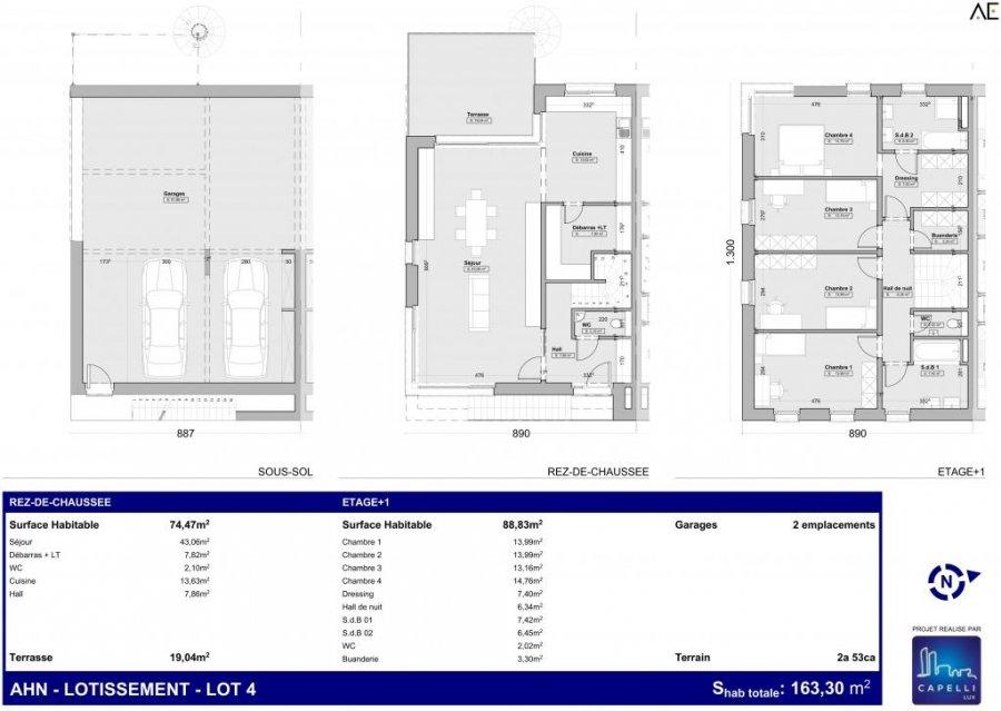 acheter maison individuelle 4 chambres 163.3 m² wormeldange photo 2