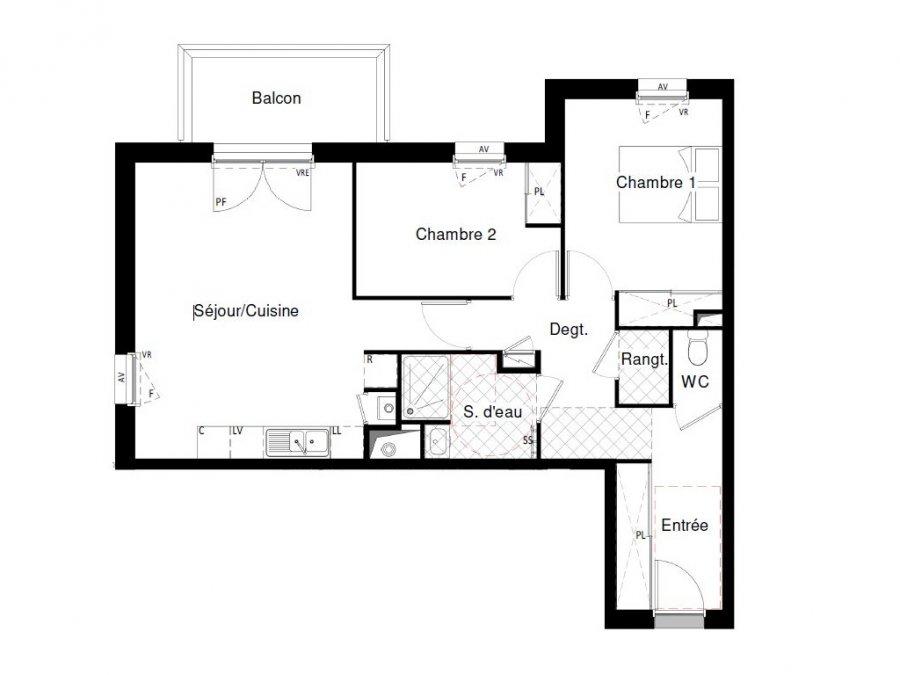 acheter appartement 3 pièces 64.1 m² saint-nazaire photo 4