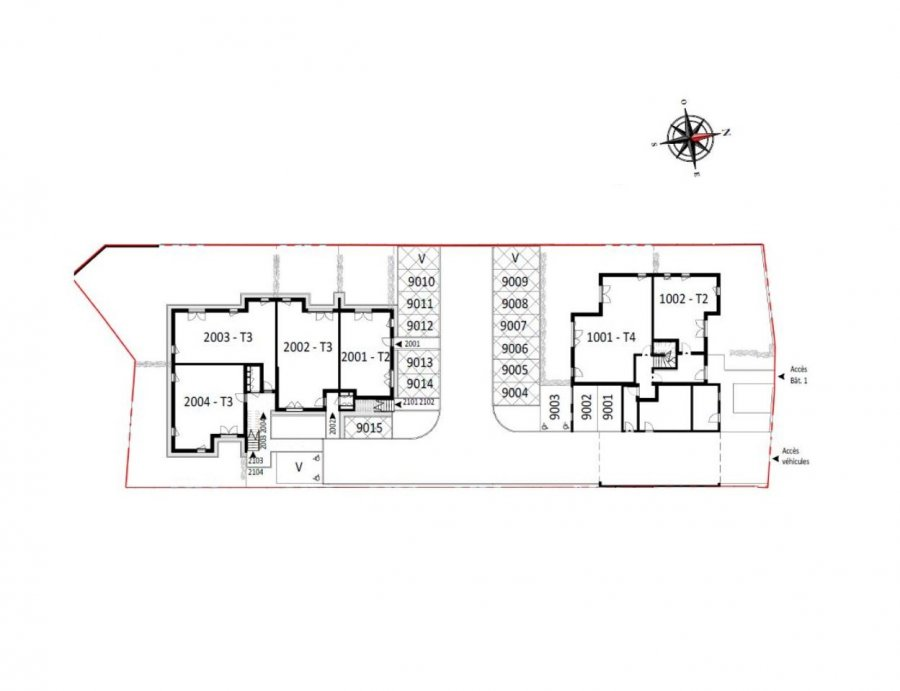 acheter appartement 3 pièces 64.1 m² saint-nazaire photo 6