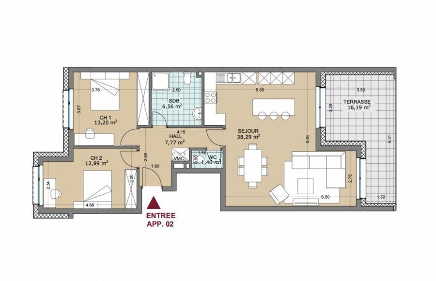 apartment for buy 2 bedrooms 98.66 m² rollingen photo 3
