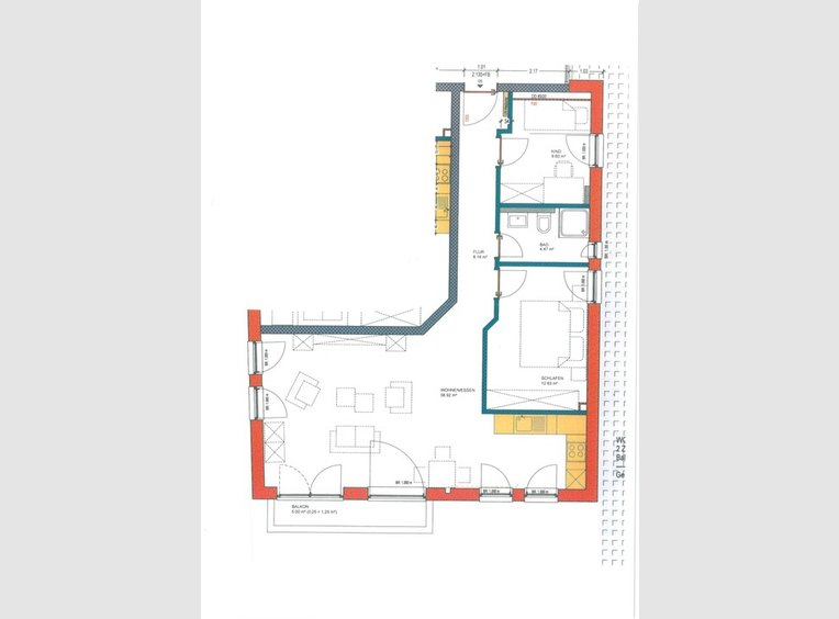 Appartement à louer 3 Pièces à Langsur (DE) - Réf. 7177655