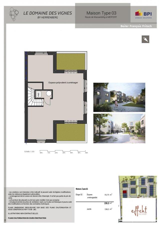 acheter maison 5 chambres 215 m² mertert photo 6