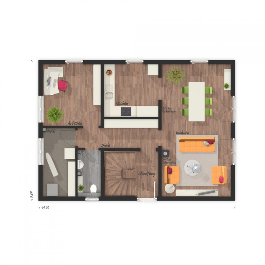 house for buy 5 rooms 129 m² perl photo 7