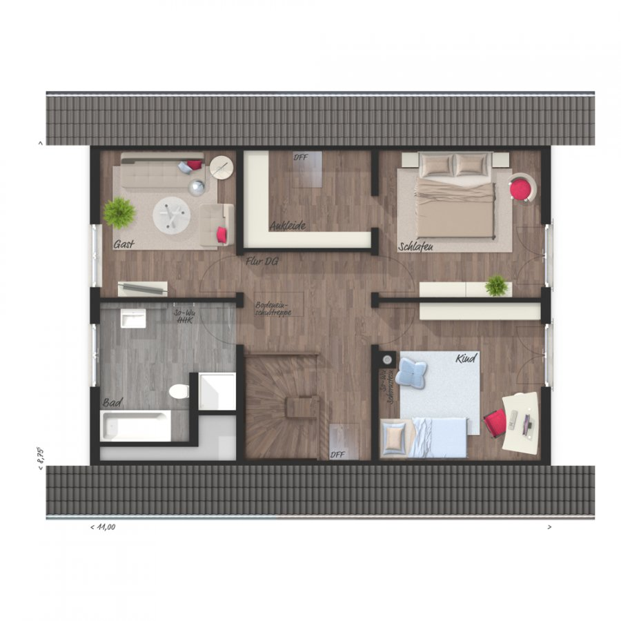 house for buy 5 rooms 129 m² perl photo 6