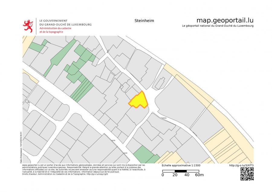 Terrain non constructible à vendre à Steinheim