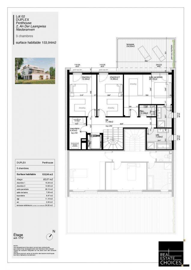 duplex for buy 3 bedrooms 166 m² niederanven photo 7