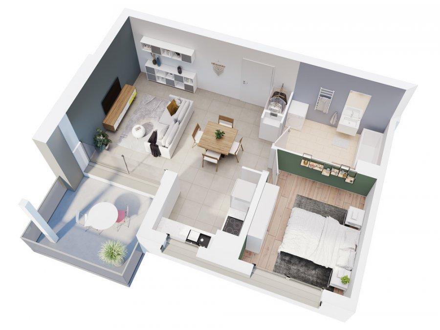 acheter appartement 2 pièces 49.05 m² vantoux photo 4