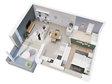 Appartement à vendre F2 à Vantoux - Réf. 6961095