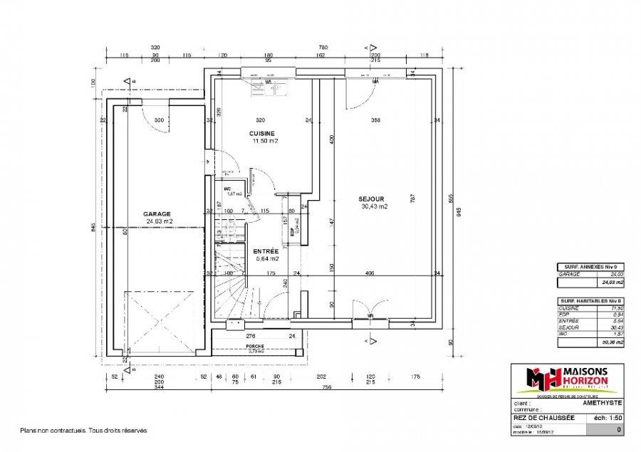 acheter maison 3 pièces 100 m² pournoy-la-chétive photo 4