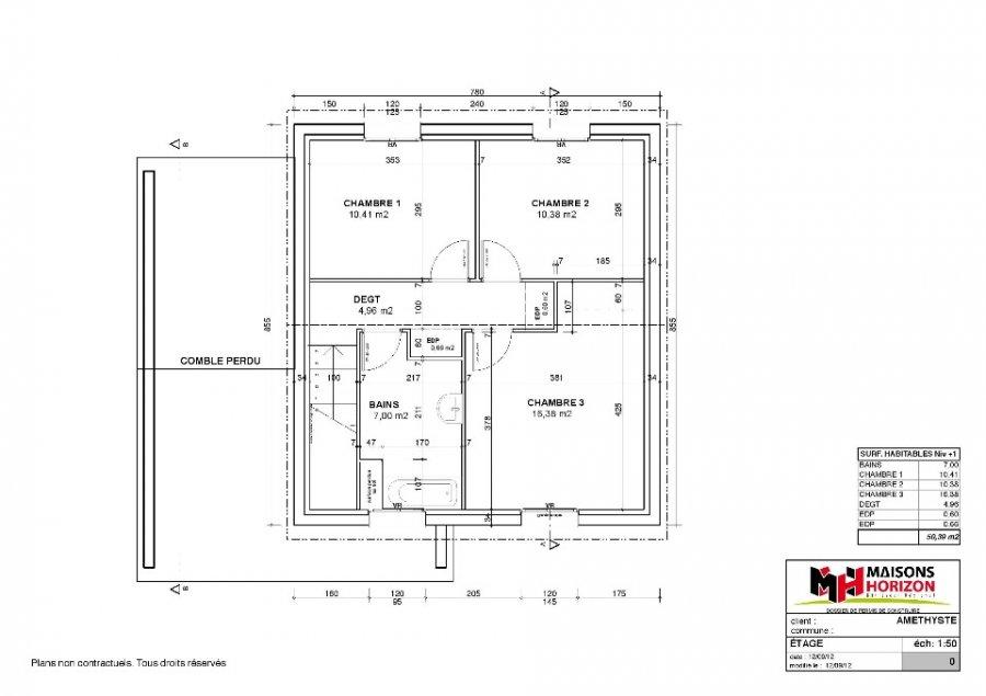 acheter maison 3 pièces 100 m² pournoy-la-chétive photo 1