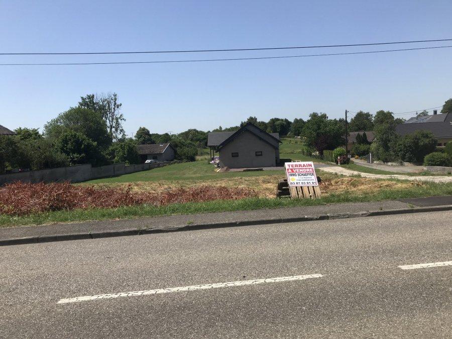 Terrain constructible à vendre à Buhl lorraine