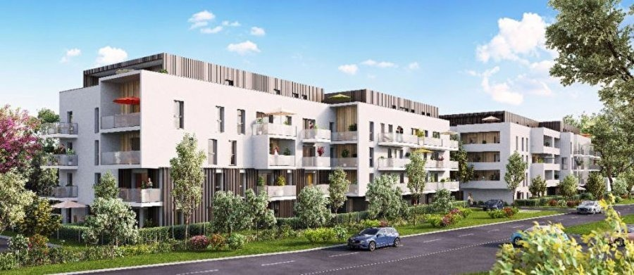 acheter appartement 3 pièces 59.26 m² thionville photo 1