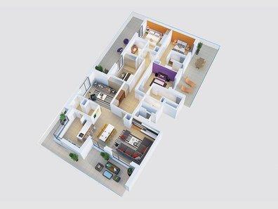 Apartment for sale 4 bedrooms in Hesperange - Ref. 5719511