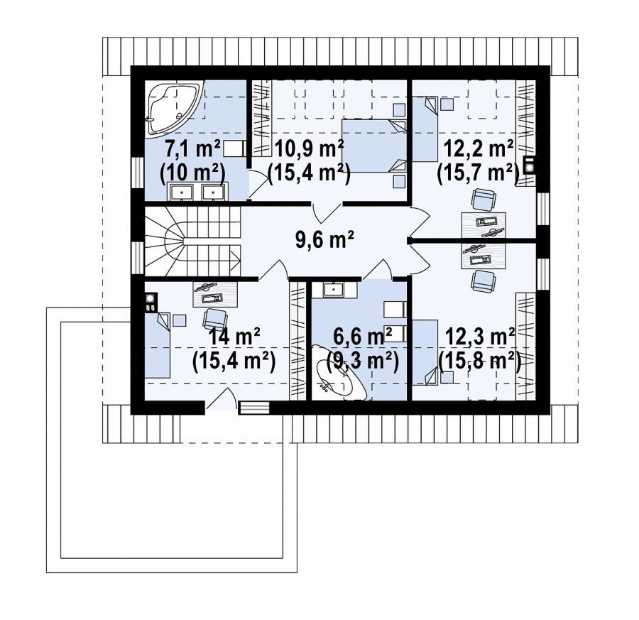 acheter maison individuelle 5 chambres 191 m² roodt (redange) photo 6