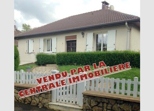 Vente maison individuelle f6 briey meurthe et moselle for Vente maison individuelle moselle