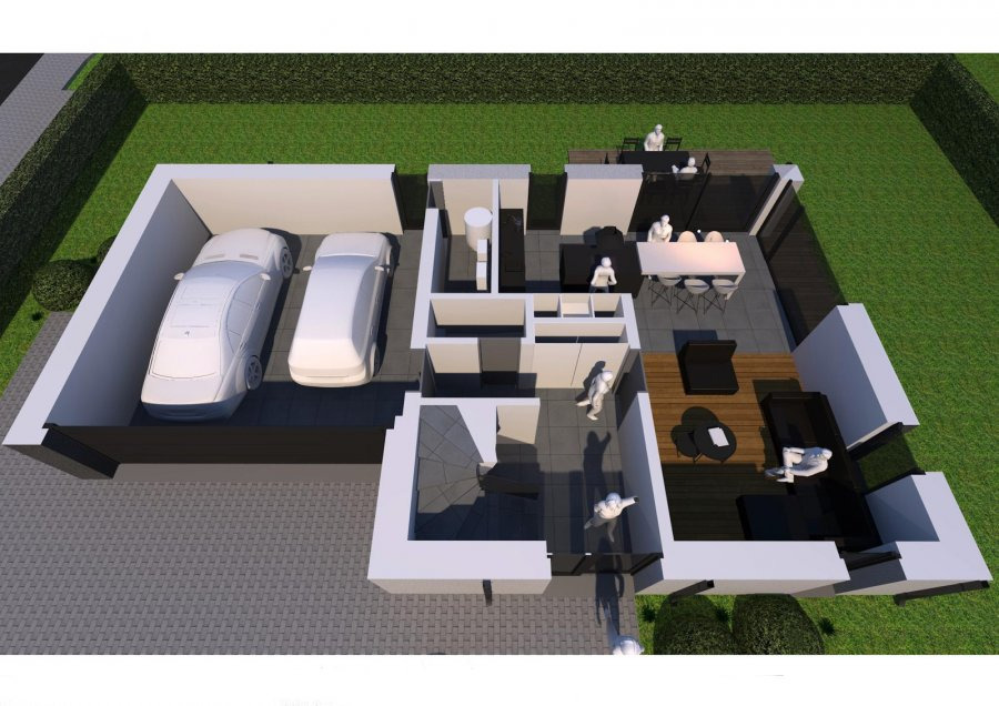 acheter maison individuelle 3 chambres 195 m² derenbach photo 3