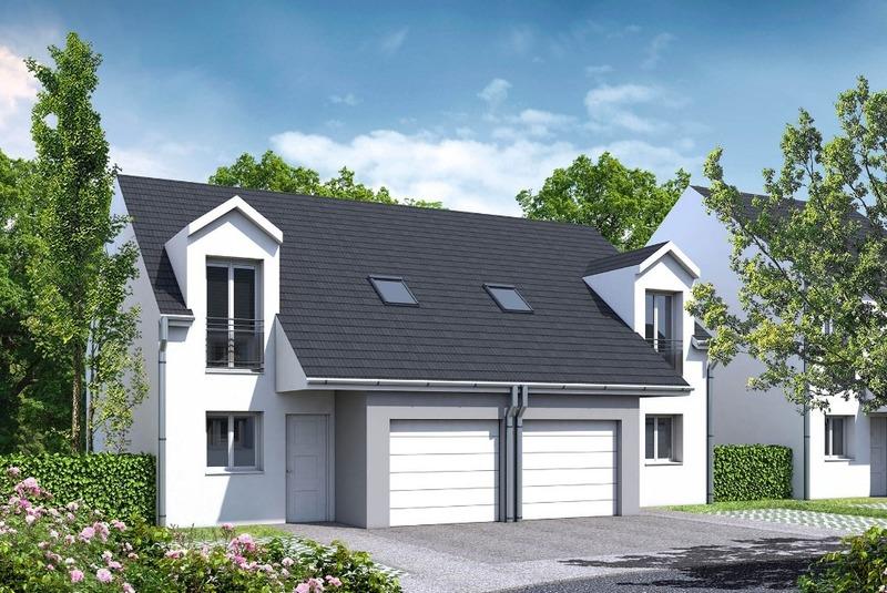 ▷ Einfamilienhaus kaufen • Courcelles-sur-Nied • 90 m² ...