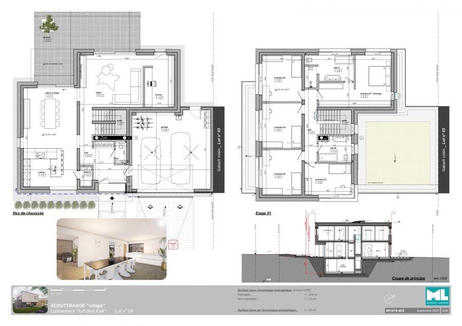 acheter maison 5 chambres 234 m² schuttrange photo 5