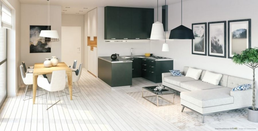 acheter appartement 1 chambre 44.63 m² luxembourg photo 2