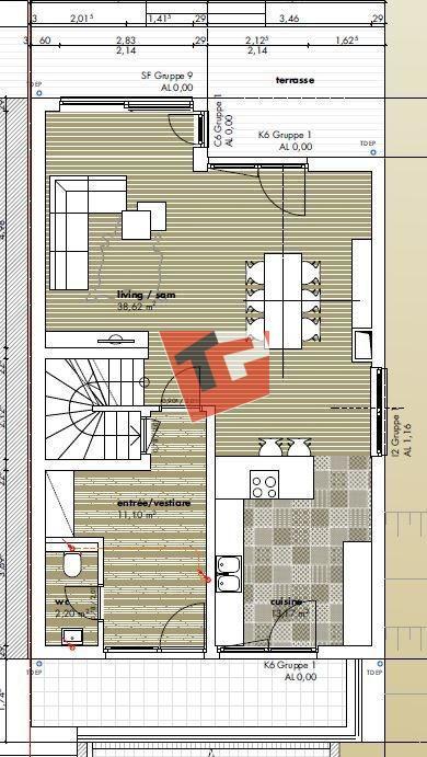 acheter maison 5 chambres 172 m² moutfort photo 3