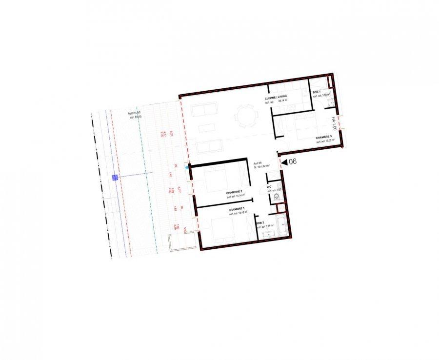 acheter appartement 3 chambres 101.6 m² belval photo 3