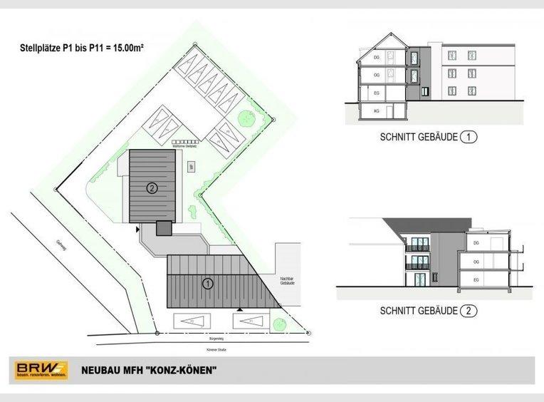 Wohnung zum Kauf 2 Zimmer in Konz (DE) - Ref. 6916343