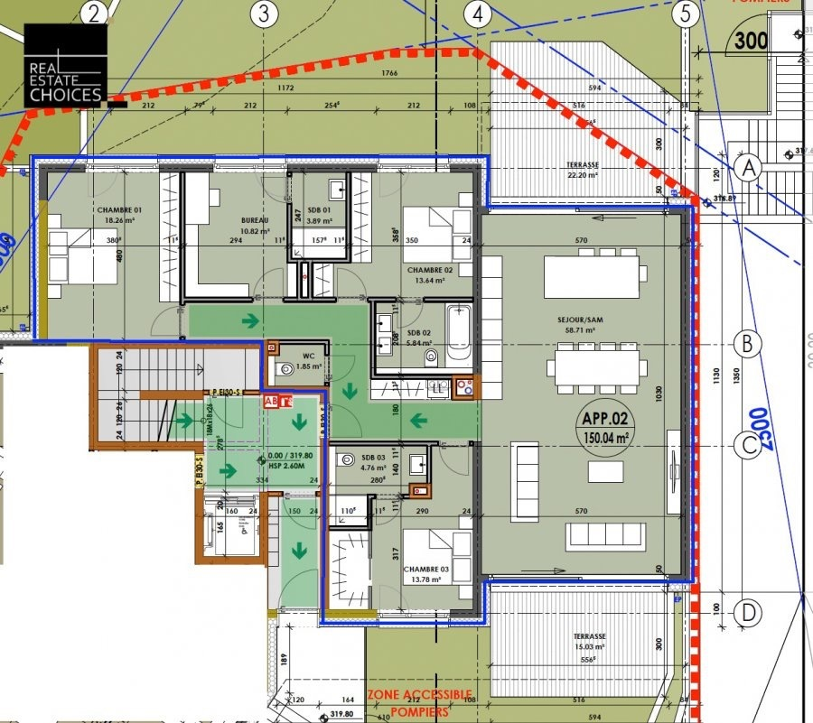 apartment for buy 3 bedrooms 150 m² hostert (niederanven) photo 4