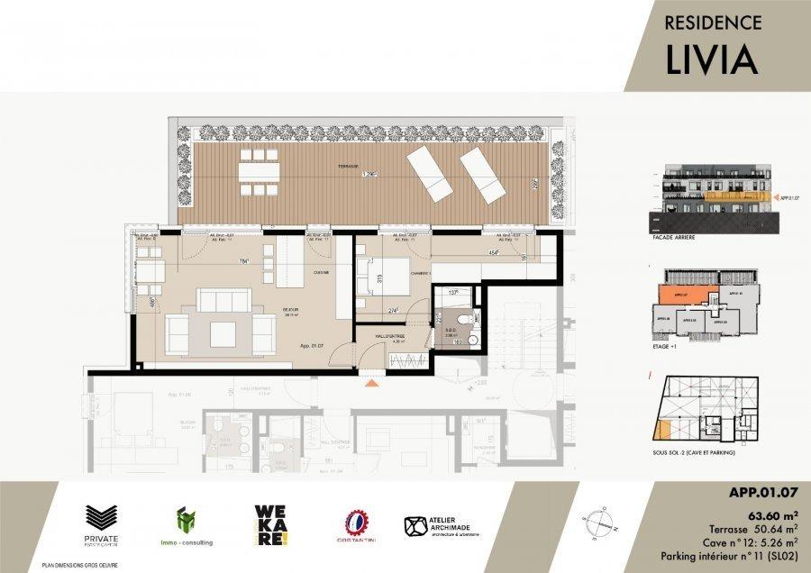 wohnung kaufen 1 schlafzimmer 80.7 m² luxembourg foto 3