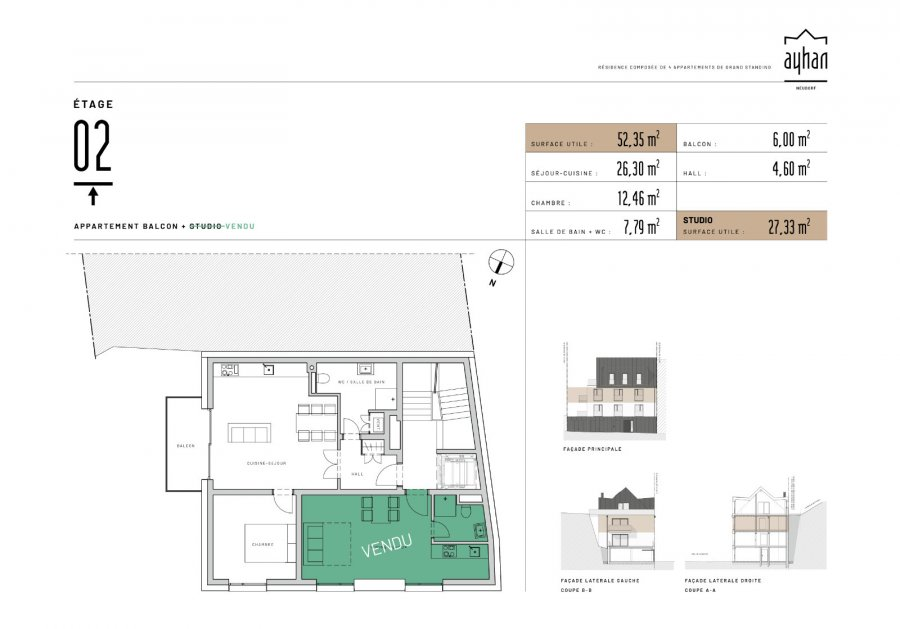 apartment for buy 1 bedroom 55.35 m² luxembourg photo 2