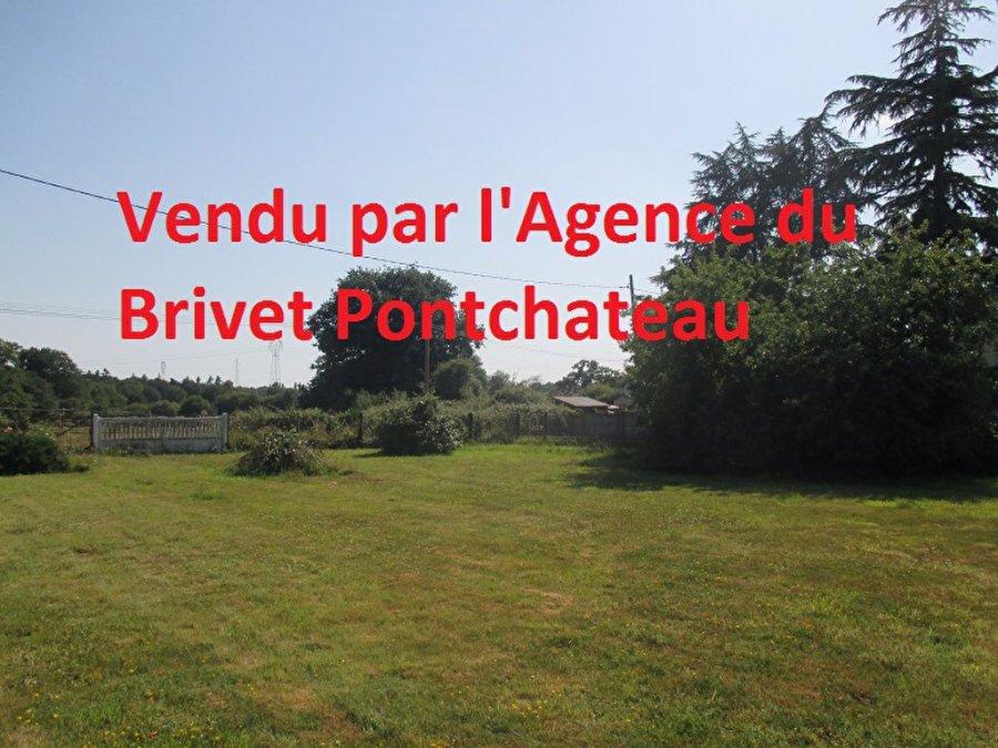 acheter terrain constructible 0 pièce 750 m² pontchâteau photo 1
