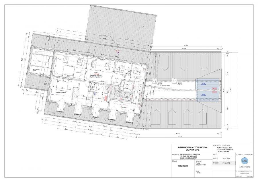 acheter duplex 3 chambres 183.78 m² junglinster photo 3