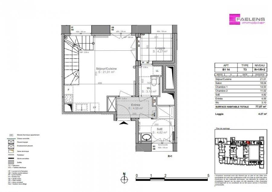 acheter appartement 3 pièces 78 m² lille photo 4